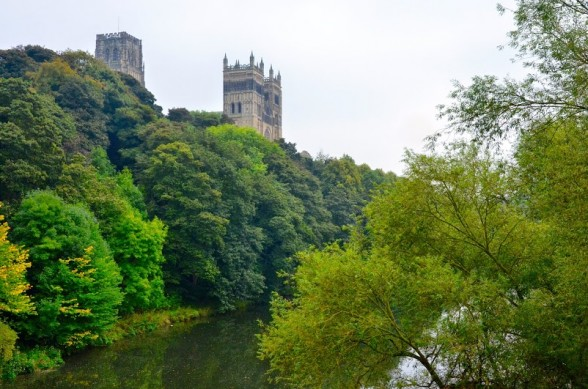 Durham Cathedral from teh river