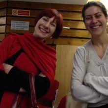 Aurore and Elena ready to teach again - Version 2