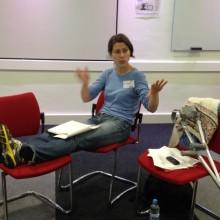 Elena teaching