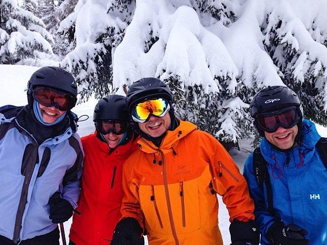 The gang about to attack the powder